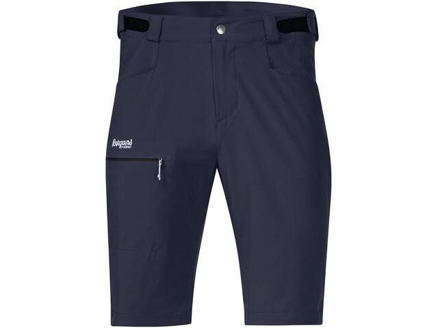 Bergans Slingsby LT Softshell Shorts Herr dark navy/white